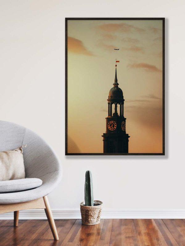 tombaenre-wandbild-wohndeko-kunstdruck-hamburg-bilder-poster-alu-verbund-michel-kirche-2
