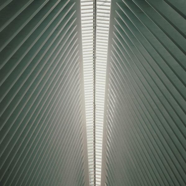 New York City - Die Oculus Main Station am One World Trade Center