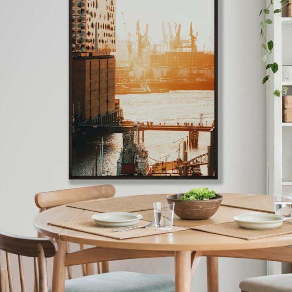 tombaenre-wandbild-wohndeko-kunstdruck-hamburg-bilder-poster-alu-verbund-elbphilharmonie-ausblick-sonnenuntergang-6