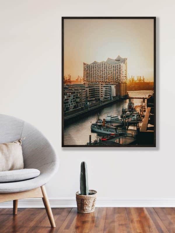 tombaenre-wandbild-wohndeko-kunstdruck-hamburg-bilder-poster-alu-verbund-elbphilharomonie-ausblick-2