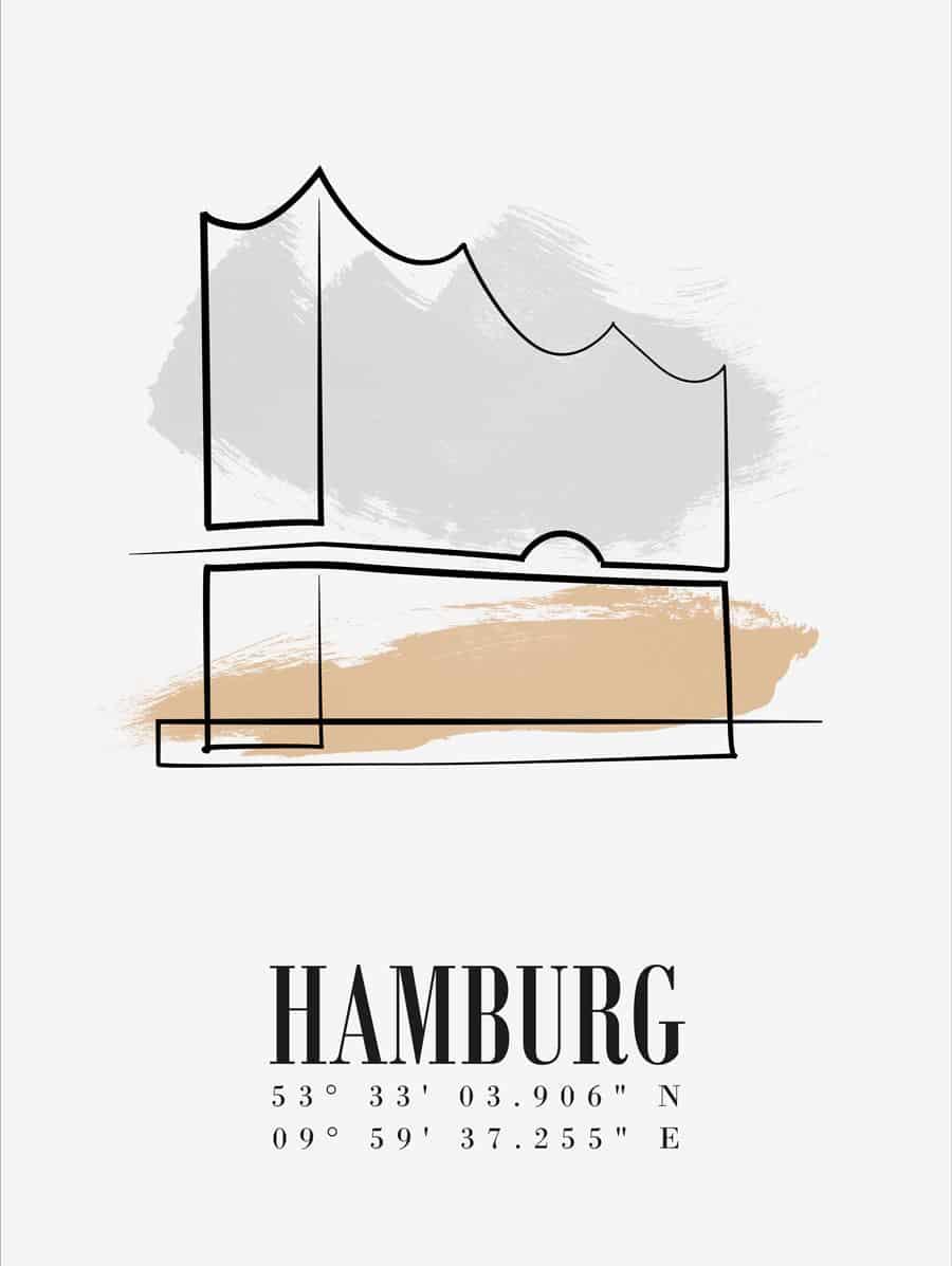 line-art-elbphilharmonie-minimalistisch-minimal-typografie-1