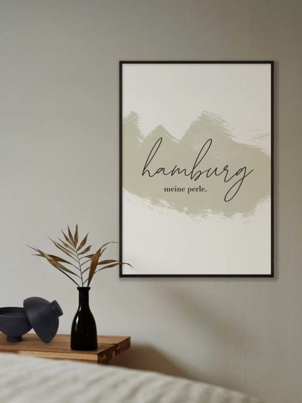 hamburg-meine-perle-handwritting-poster-print-digital-tombaenre-4