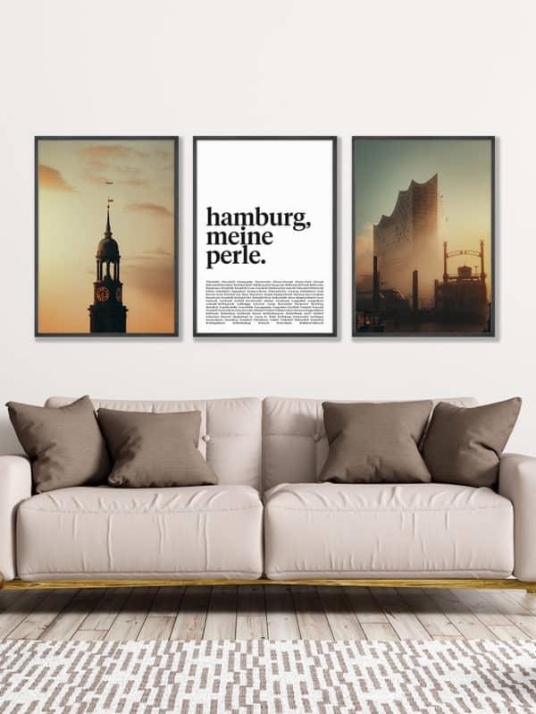 tombaenre-wandbild-wohndeko-kunstdruck-hamburg-bilder-poster-alu-verbund-set-michel-elphie-schrift-1