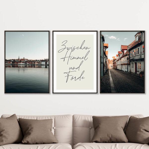 tombaenre-flensburg-bilder-fotos-wandbild-poster-galerie-poster-set-2