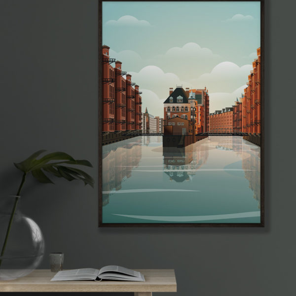 tombaenre-wandbild-wohndeko-kunstdruck-hamburg-bilder-poster-alu-verbund-hamburg-wasserschloss-grafik-7