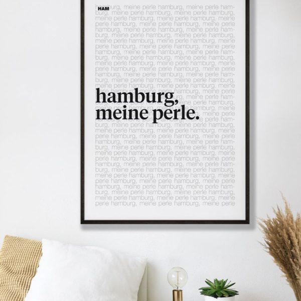 tombaenre-wandbild-wohndeko-kunstdruck-hamburg-bilder-poster-alu-verbund-typo-hamburg-meine-perle